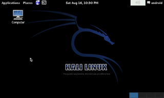 kali linux on android