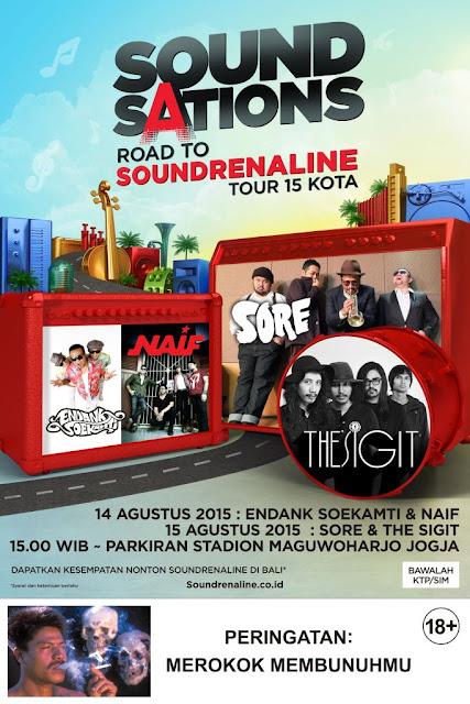 road to soundrenaline jogja