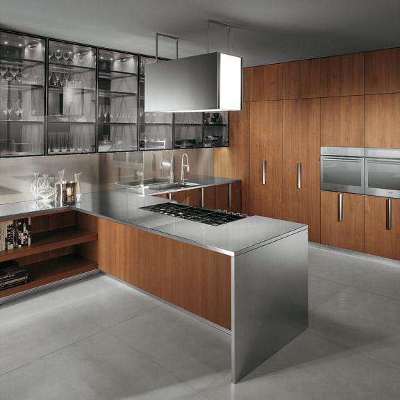 la madera como protagonista en la cocina cocinas con estilo