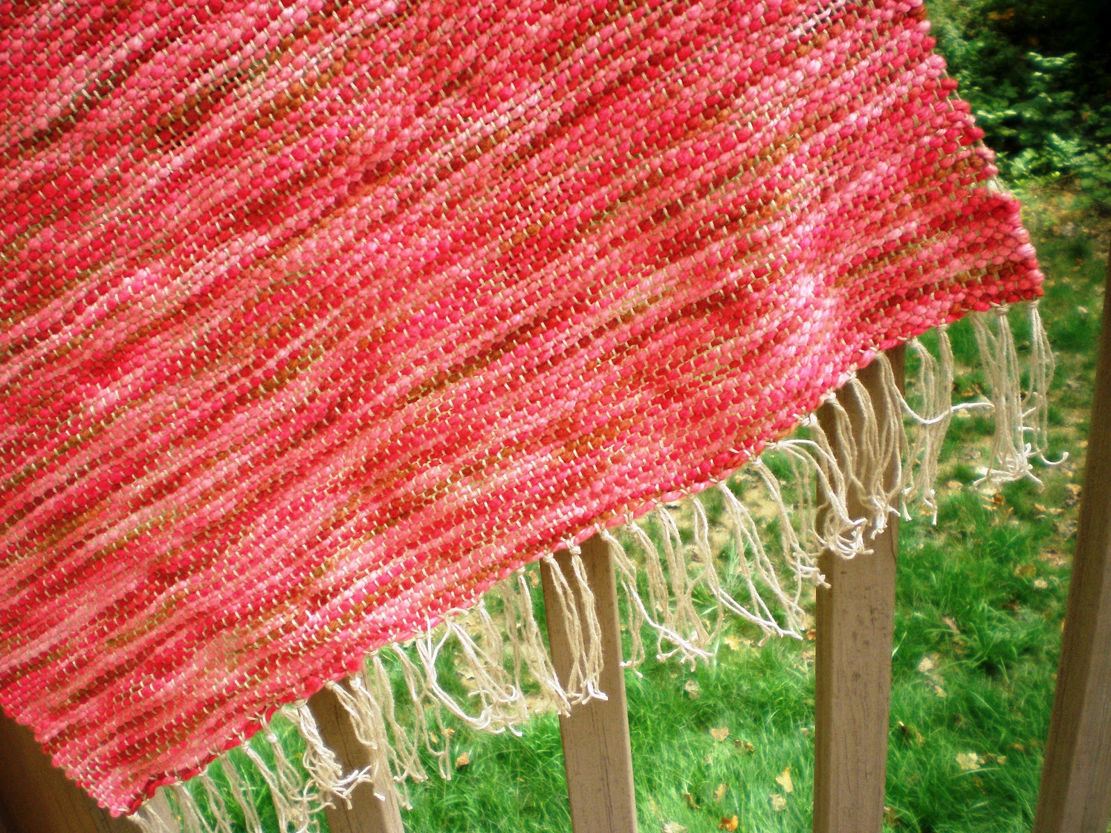 Crochet Pattern For Nursing Shawl : Hooked on Crochet: Off the Loom