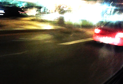 Auto en Velocidad