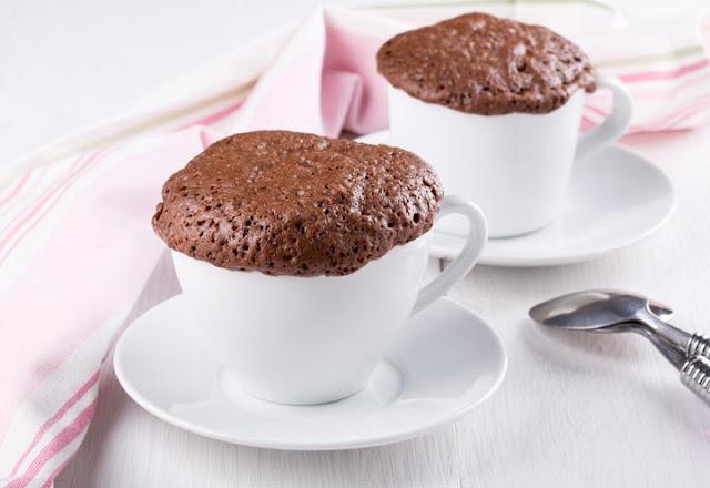 Trucos para un mug cake perfecto