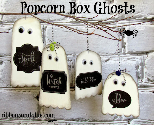 Popcorn Box Ghosts