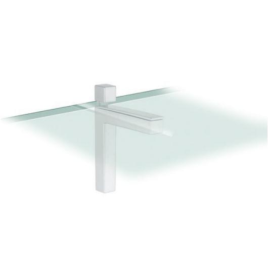 soporte estante cristal madera cocina baño
