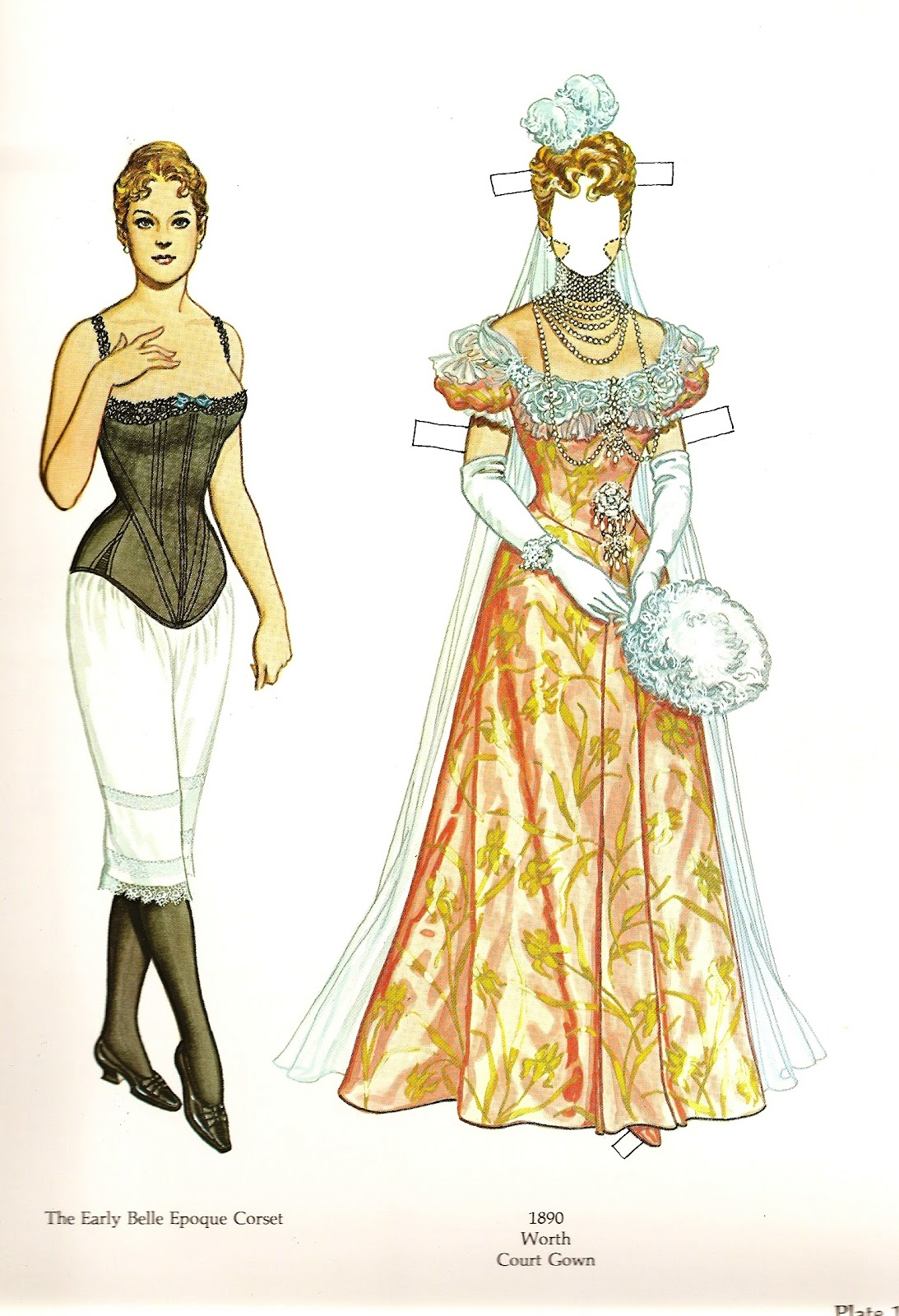 Victorian fashion paper dolls 10
