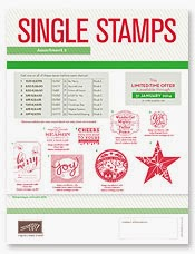 Christmas Single Stamps