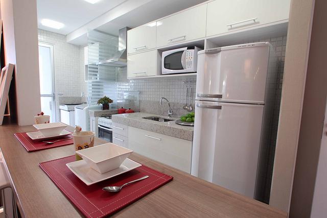 decorar cozinha grande:Apê 114: Apartamentos Decorados