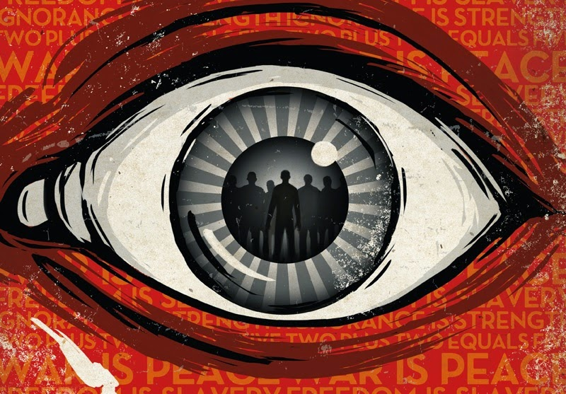 "a literary analysis of the big brother in 1984 by george orwell Literary criticism articles about the writing of george orwell varied  he thinks that the idea of ""big brother is watching"" is an allusion to russia in ww2 and."