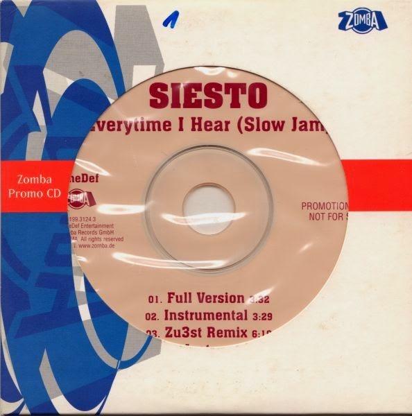 Siesto - Everytime I Hear (Slow Jam) (Promo CDS) (2000)