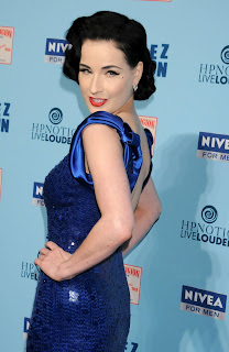 Dita Von Teese at Perez Hilton's Birthday Party