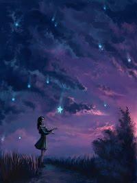 ♥ a chuva é de estrelas...