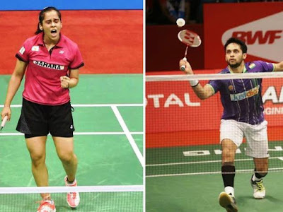 Saina and kashyap gets into second round in japan super series batman championship