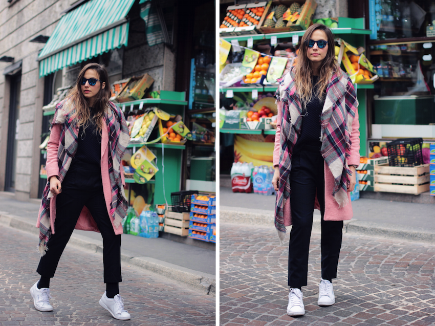 fashion blogger milan daniel wellington street style