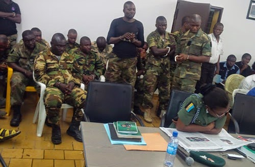 nigerian soldiers sentenced to death