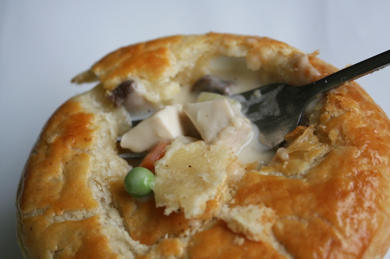 But you can call me crazy...: Chicken Pot Pie