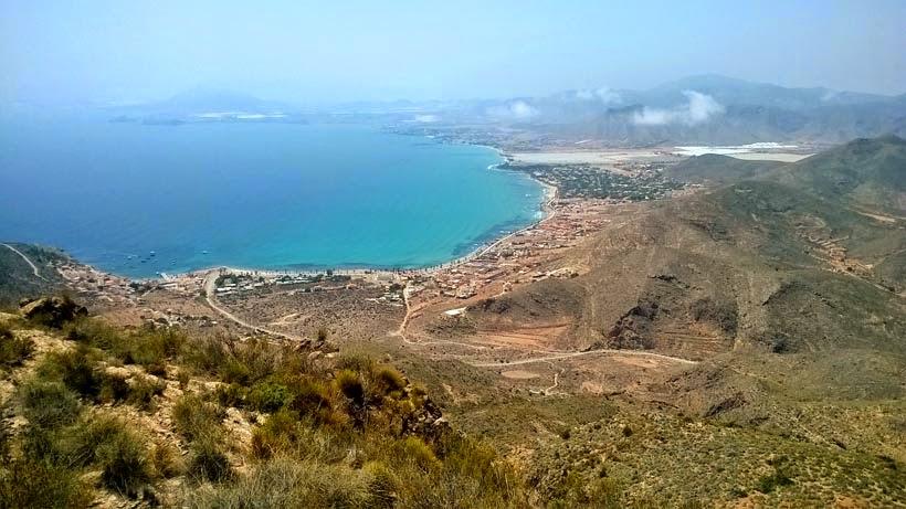 Vistas a la bahía del Puerto de Mazarrón