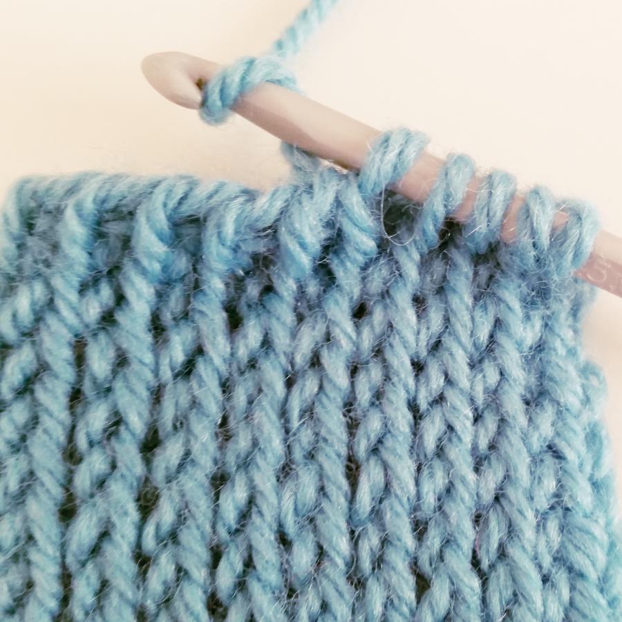 crochet ganchillo tunecino