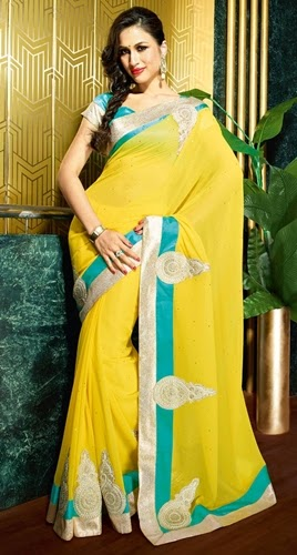 Latest Style in Sarees