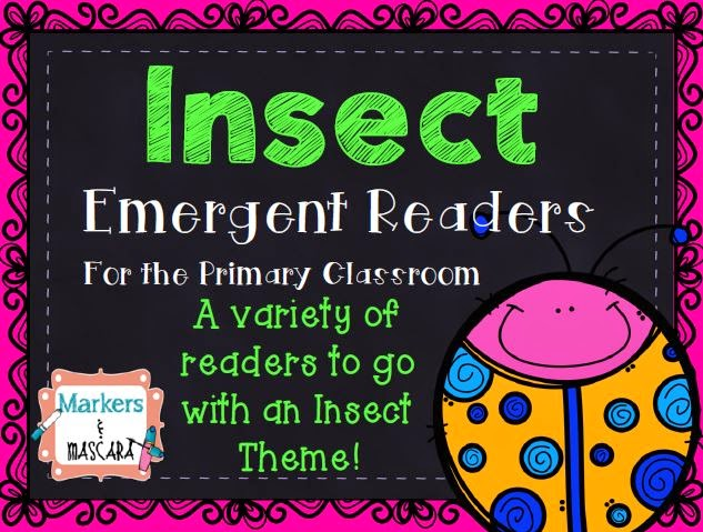 https://www.teacherspayteachers.com/Product/Insect-Emergent-Readers-1761885