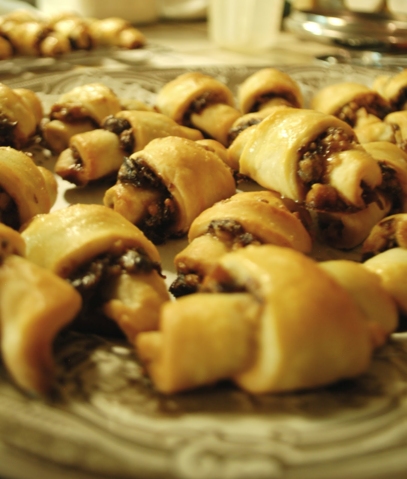The Spice Garden: Bourboned Cherry and Walnut Rugelach