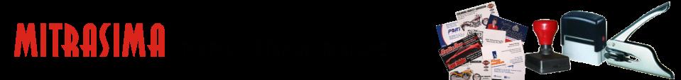 Mitrasima Stempel-Cetakan-Reklame