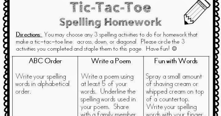 Spelling homework help online