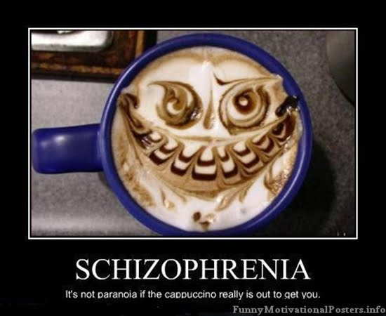 Coffee demotivational posters