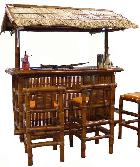 Bamboo tiki bar bamboo valance photo - Bamboo bar design ideas ...
