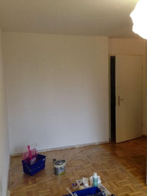 kinddersonne babyzimmer streichen. Black Bedroom Furniture Sets. Home Design Ideas