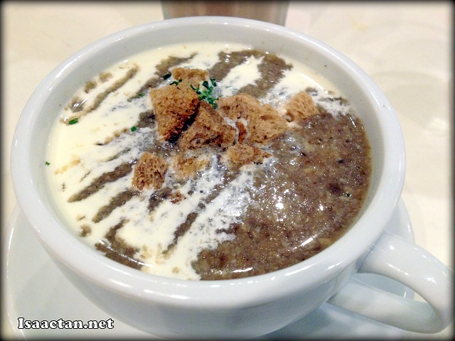 Cream Of Mushroom Soup - RM15