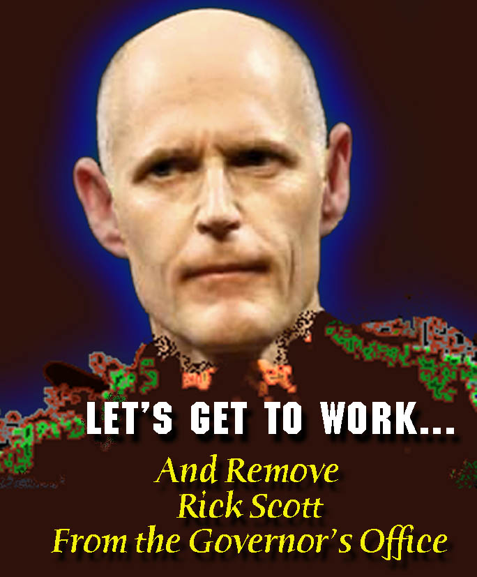 rick scott   clown