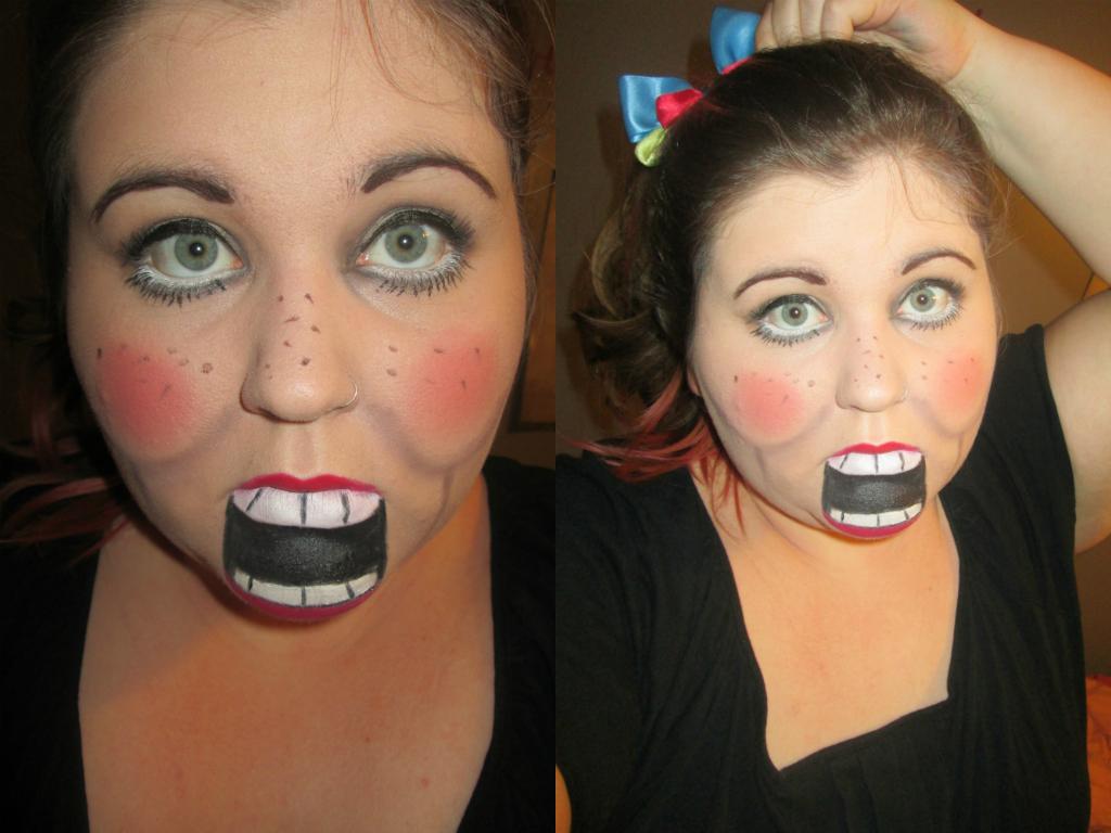Ventiloquist Dummy Halloween Makeup I Live For Lipsticks