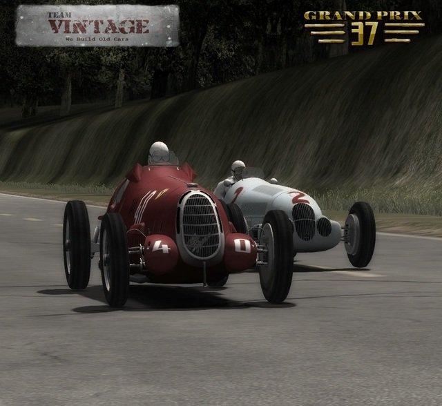 Mod rFactor 2 F1 1937 grand prix