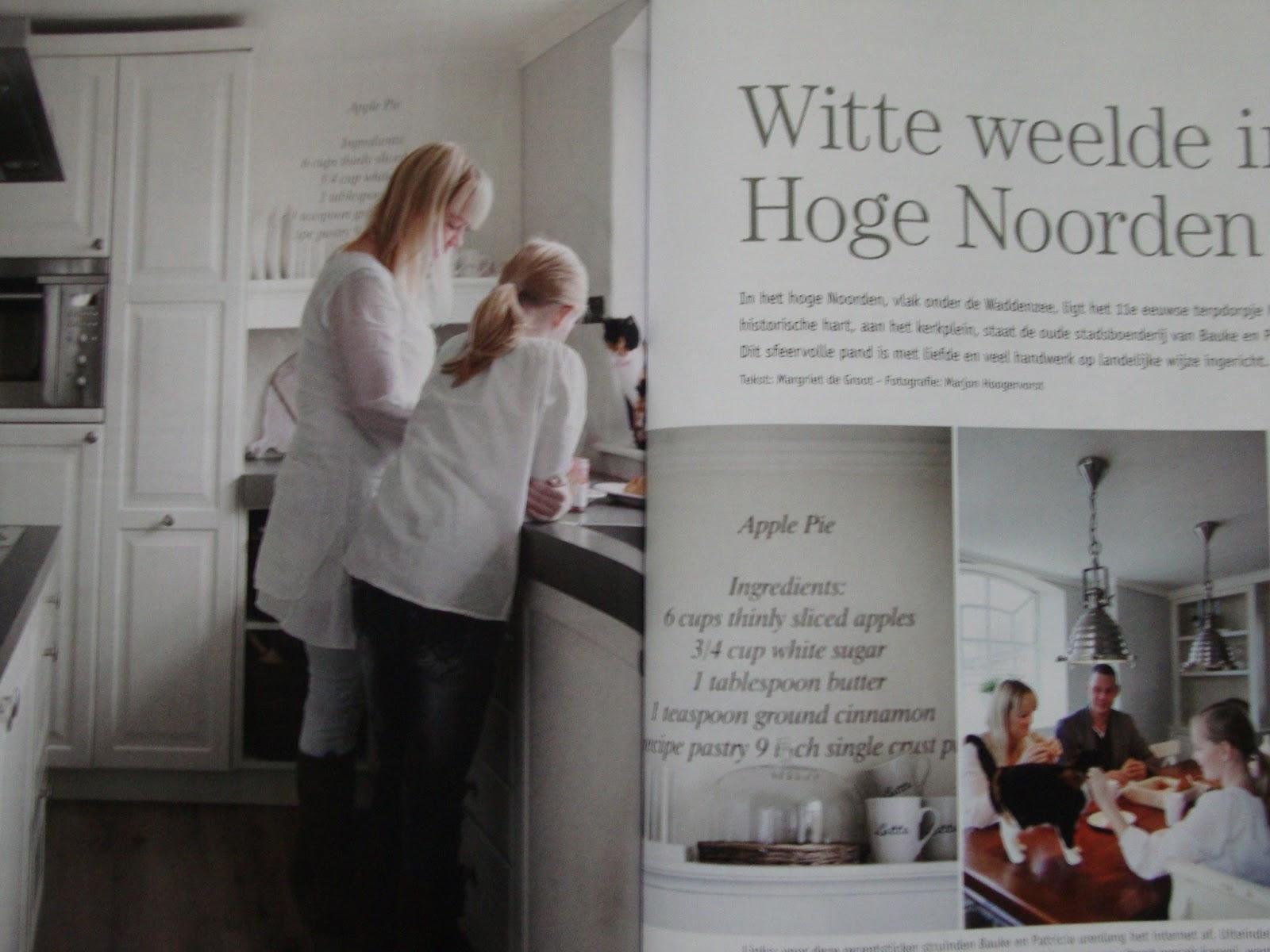 Landelijk Wonen Tijdschrift : Landelijke keukens fotospecial inspirerende keukens