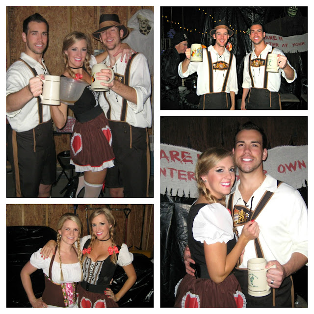 bavarian halloween costume beer girl German