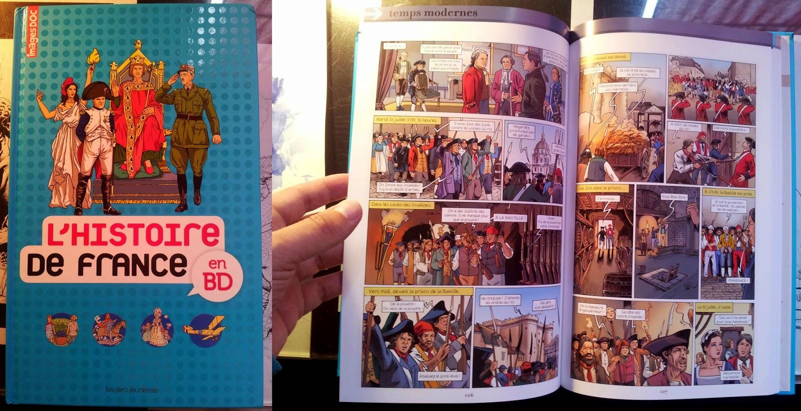 livre bd histoire de france