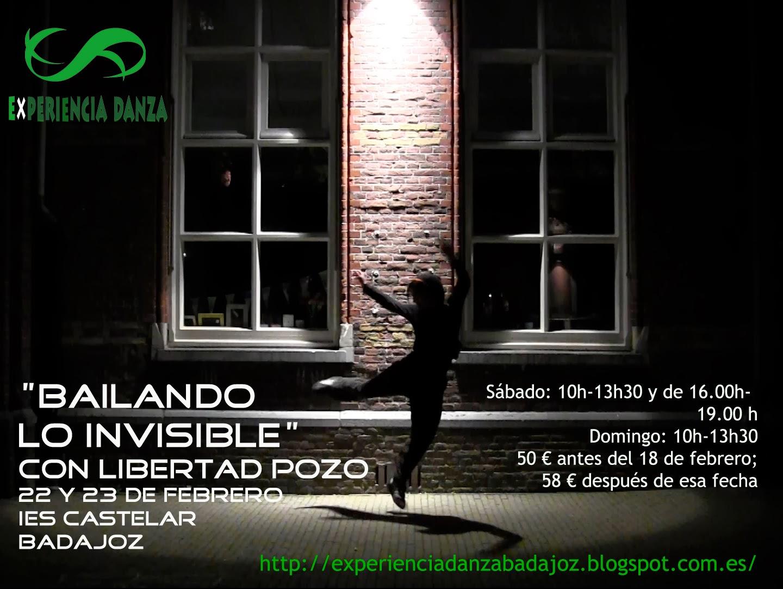 OCURRIÓ EN FEBRERO 2014; BAILANDO LO INVISIBLE con Libertad Pozo