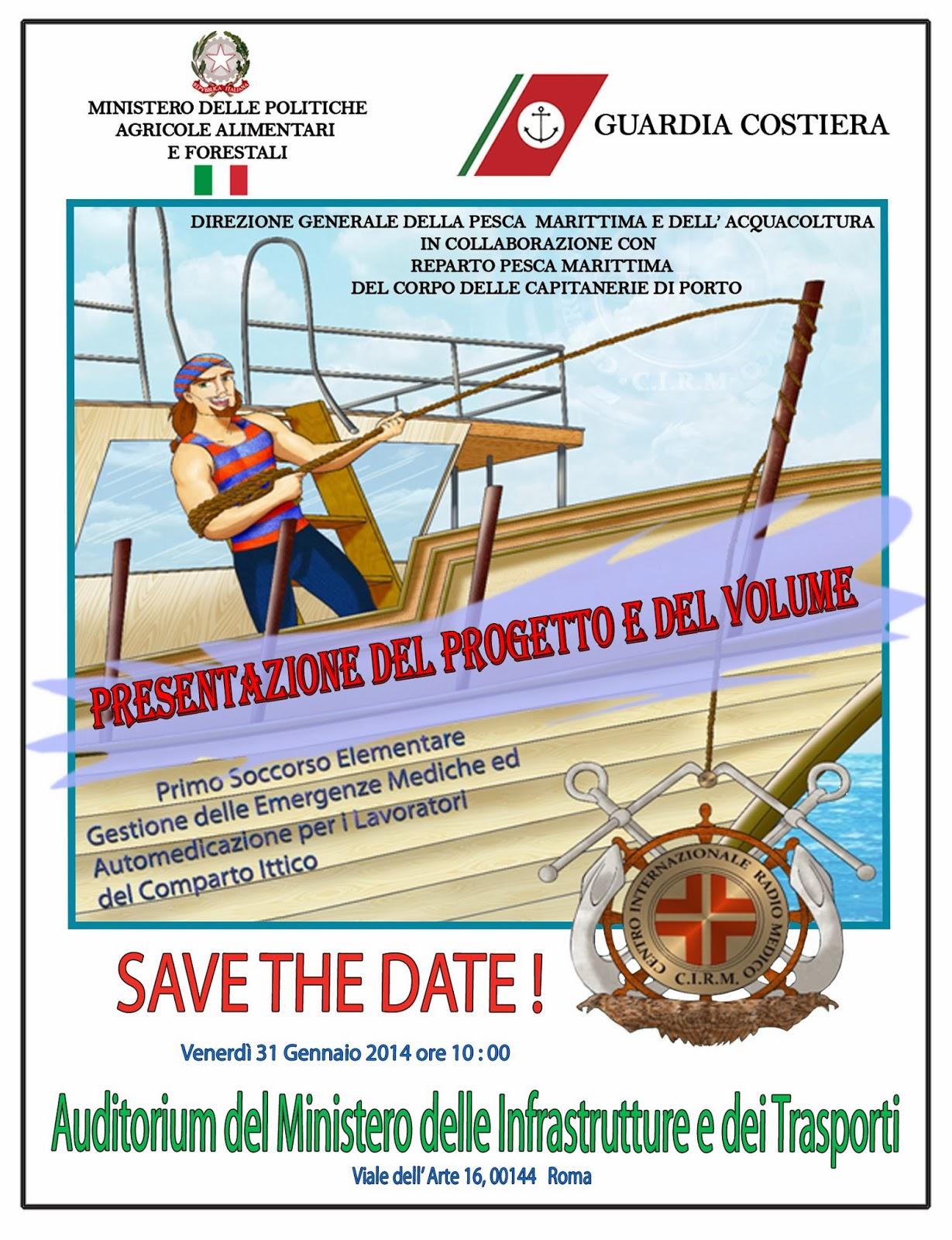 Presentazione Manuale primo soccorso gente di mare