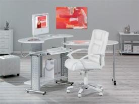 Forgatható számítógépasztal