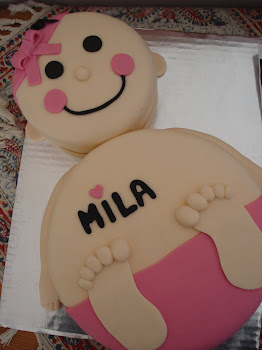 Mila&#39;s Christening Cake