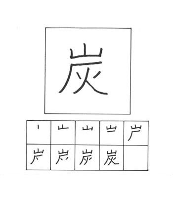 kanji batubara