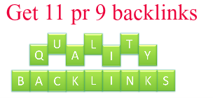 Backlinks(Pr 9) for Better SEO