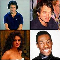 Dustin, Robin, Julia & Eddie
