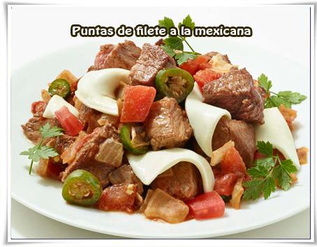 Recetas Mexicanas, carnes
