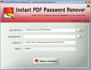 Instant PDF Password Remover v5.0 Portable Full Version