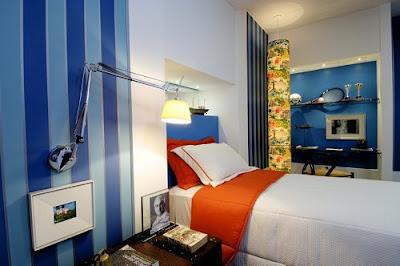 Decoração quarto meninos azul