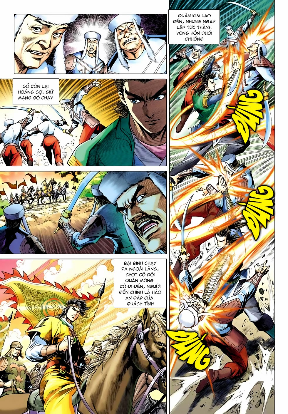 xem truyen moi - Anh Hùng Xạ Điêu - Chapter 91: Cái chết của Dương Khang