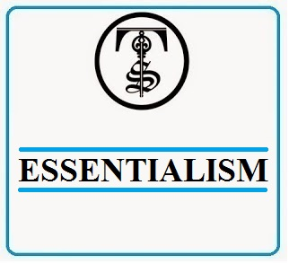 essentialism educational philosophy essay Perennialism and essentialism have similarities perennialism focuses on personal development first my educational philosophy essay in stages.