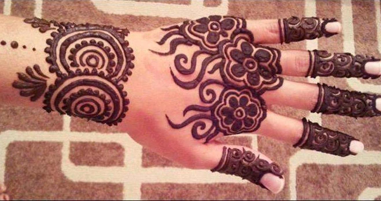 Bridal Mehndi Designs Latest Fancy Hand Mehndi Design Wallpapers