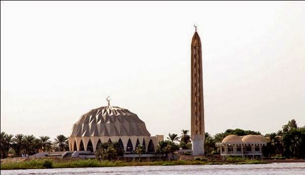 Beautiful View of Al-Nilin Mosque, Omdurman – Sudan